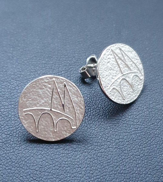 Regensburg Talisman Ohrringe Silber