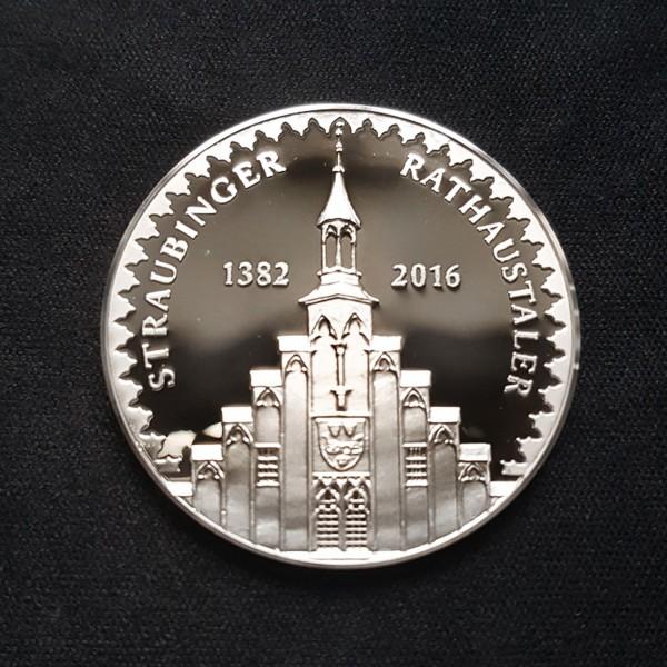 Straubinger Rathaustaler Silber