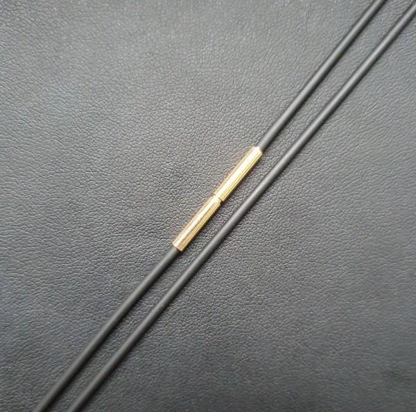Kautschukband Gold