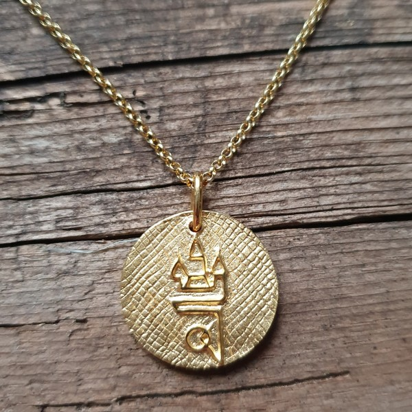 Straubing Talisman Gold mit Goldkette
