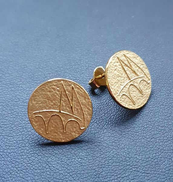 Regensburg Talisman Ohrringe Gold