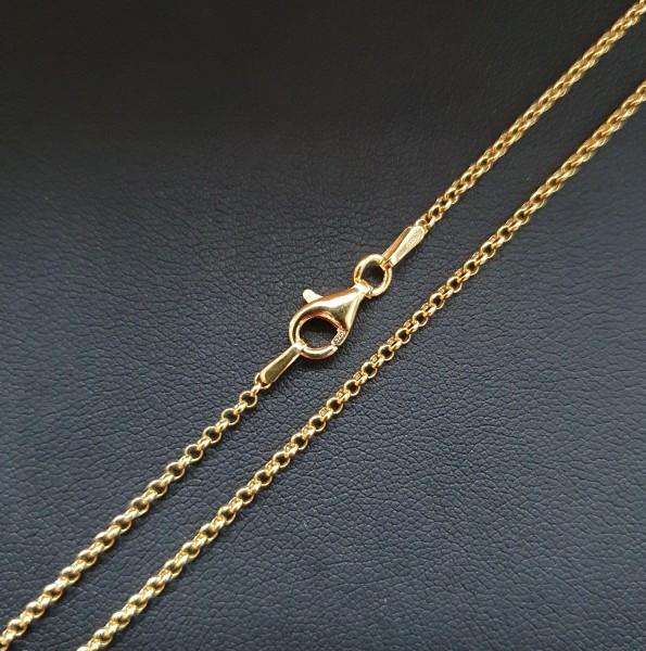 Goldkette 45cm