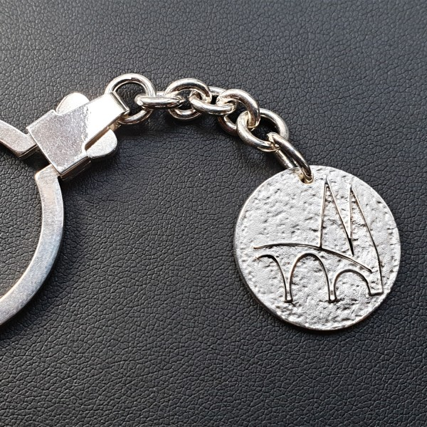 Regensburg Talisman Schlüsselanhänger Silber