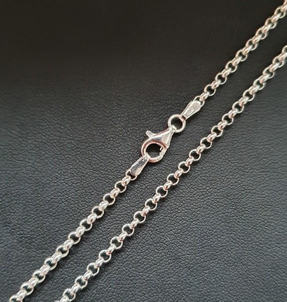Silberkette 80cm